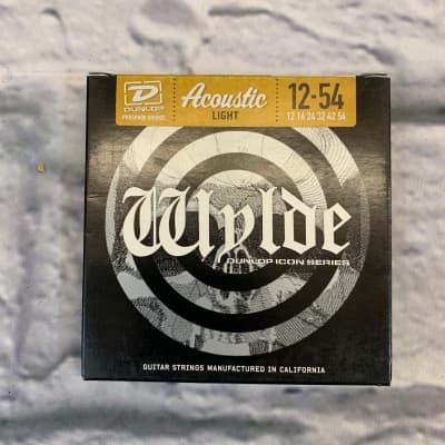 Dunlop Wylde Acoustic Light Phosphor Bronze Strings 12-54
