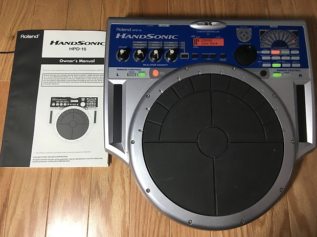 3a1b0ae6214d Roland HPD-15 HandSonic Electronic Hand Percussion Multi Pad