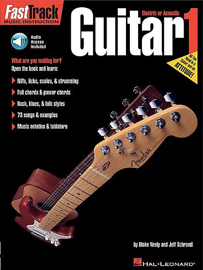 Fasttrack Music Instruction Guitar 1 With Audio Access Reverb