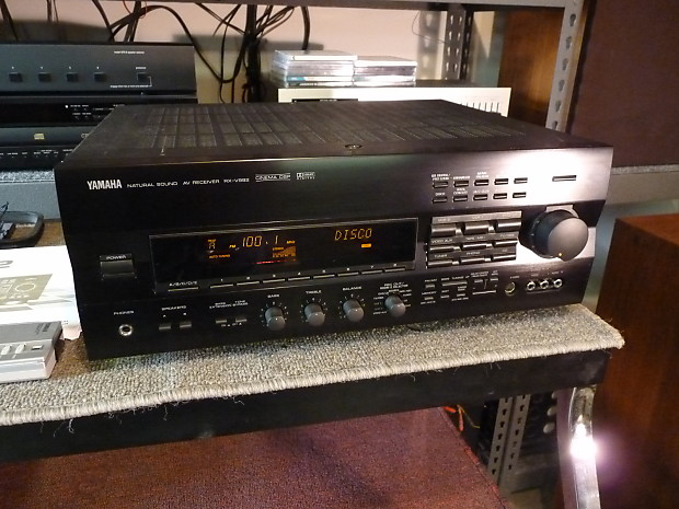Yamaha RX-V992 Surround Receiver - 80 x 5 Power @ 8 Ohms - Remote & Manual  - Fully Operational