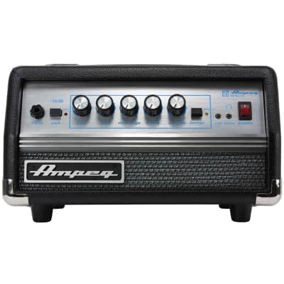 Ampeg SVT Micro VR Bass Guitar Amp Head, 200w, MOSFET Power Amp