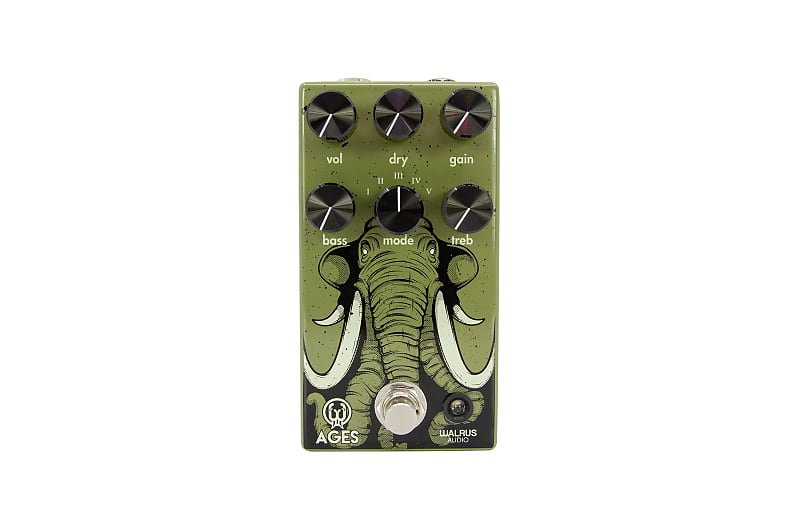 Walrus Audio Ages Five-State Overdrive Effects Pedal