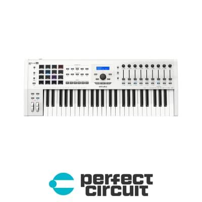 Arturia Keylab 49 mkII MIDI Keyboard Controller (White) [DEMO]