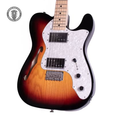 2018 Fender '72 Telecaster thinline Reissue Sunburst for sale