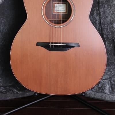McIlroy A28C Redwood / Walnut Cutaway Acoustic Guitar for sale