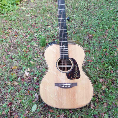Takamine tle-m1 blackwood guitar bear claw spruce 15/50 natural for sale