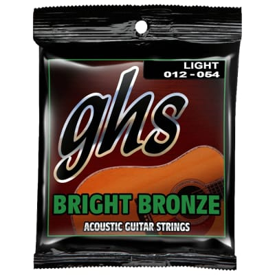 GHS Light Bright Bronze Acoustic BB30L 12-54