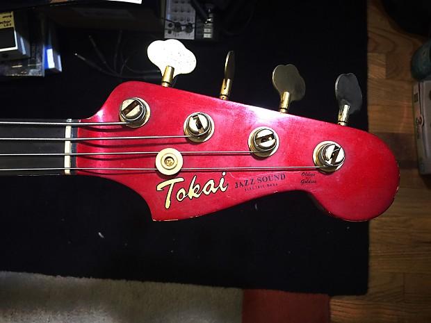 Tokai Jazz Sound 1985 Candy Apple Red