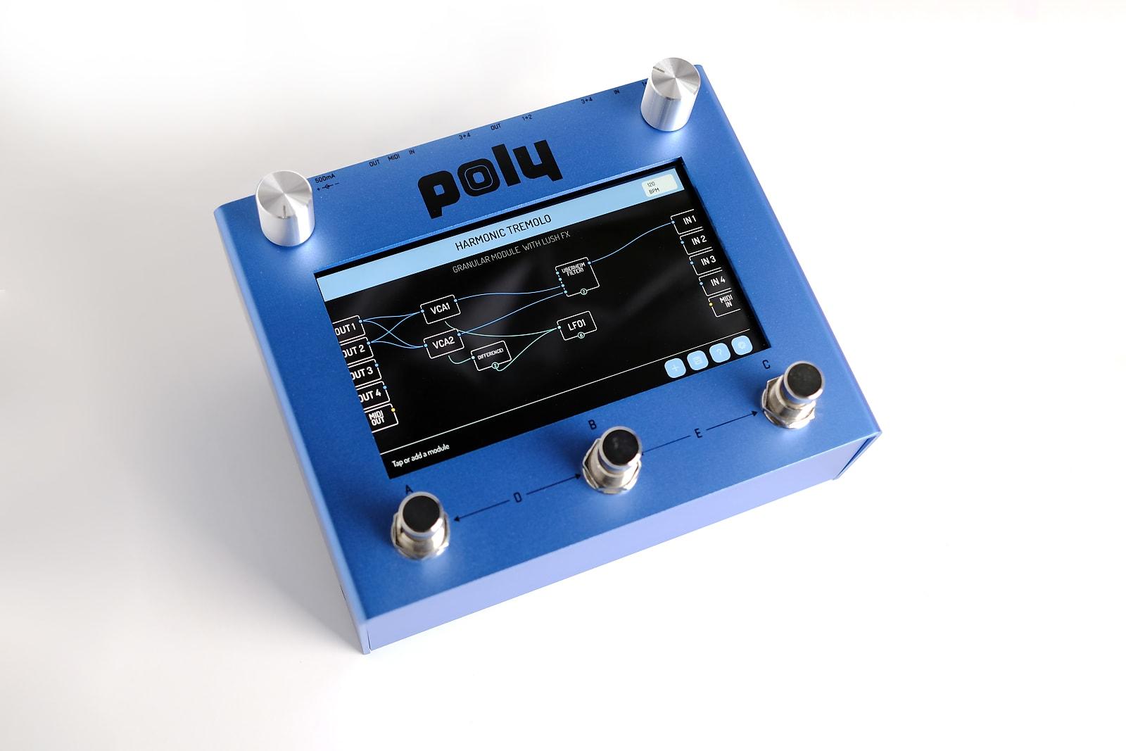 Poly Beebo - Visual Modular Pedal