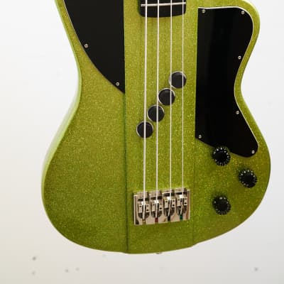Blast Cult THIRTY5 Electric Bass - Clown Vomit Green Metal Flake for sale