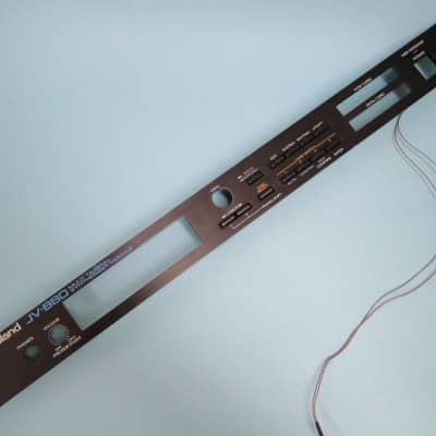 ROLAND JV-880 Face plate & power led - Clean & Fully Working