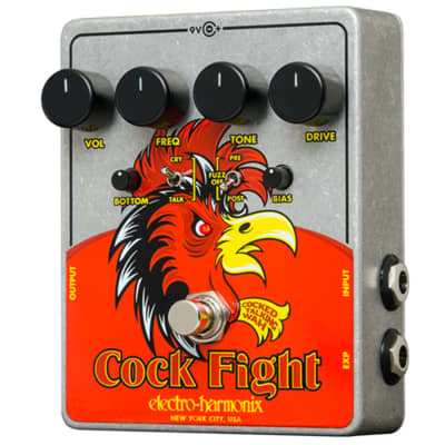 Electro Harmonix Cockfight Cocked Talking Wah Pedal for sale