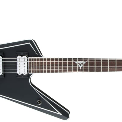 JACKSON - USA Signature Gus G. Star  Rosewood Fingerboard  Satin Black with White Pinstripes (Gus G. Logo at 12th Fret) for sale