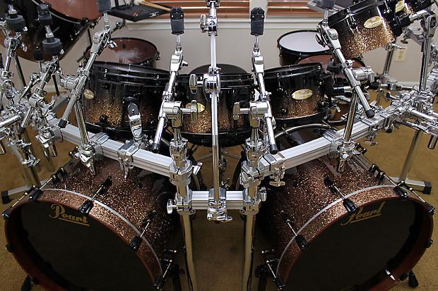 Pearl Masterworks 2015 16 Piece Custom Monster Drumkit