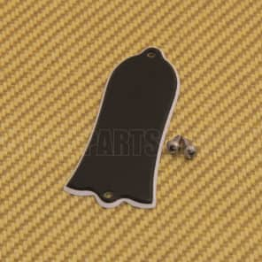 TC-M50 (1) 2-Ply Black Blank Bell Truss Rod Cover for Gibson SG/Les Paul/Bass