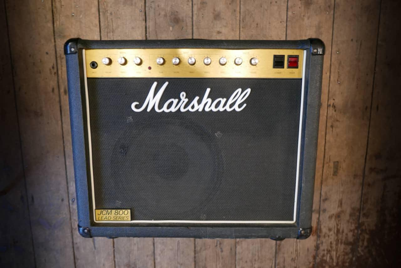 1982 marshall jcm800 1x12 50 watt combo reverb. Black Bedroom Furniture Sets. Home Design Ideas