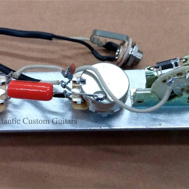 Atlantic Custom Guitars - Telecaster 3 Way Wiring Harness CTS, CRL ...