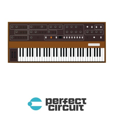 The Little Book of Synths Sequential Circuits Prophet-5 Vinyl Sticker
