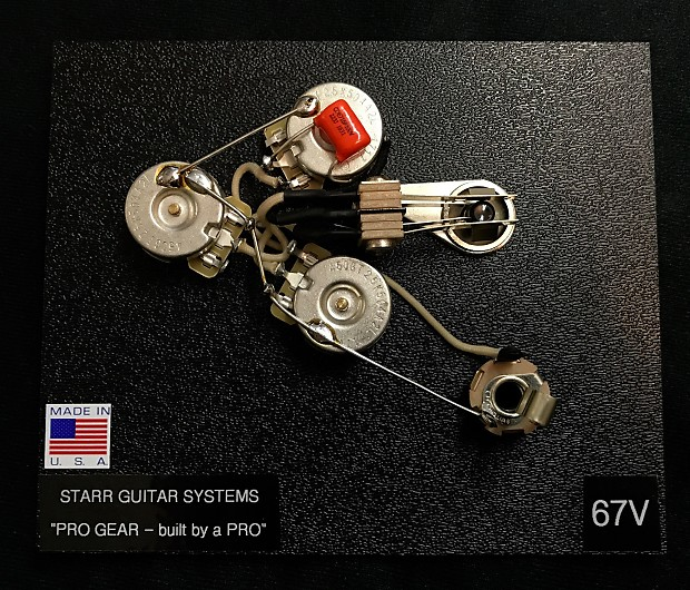 Astonishing Wiring Harness Upgrade For Gibson Flying V 58 And 67 New Reverb Wiring Digital Resources Funapmognl