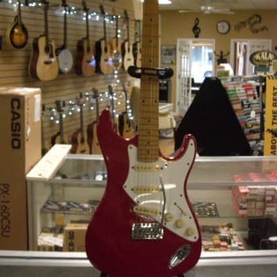 Aria Pro II Electric Guitar in Red for sale