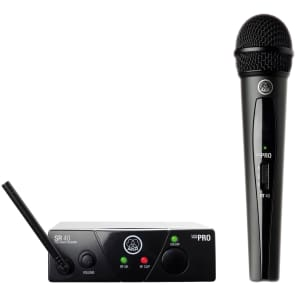AKG WMS40 Mini Single Wireless Vocal Microphone Set - Band B (537.900 MHz)