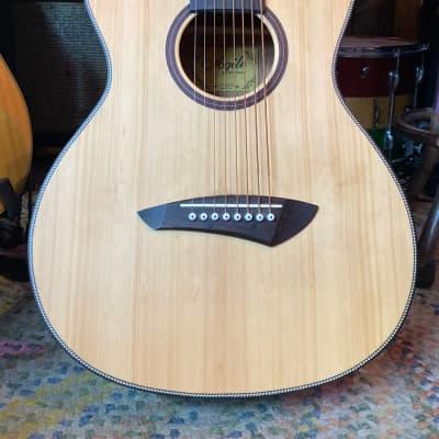 Agile Renaissance 8 String Acoustic Left Handed Natural for sale
