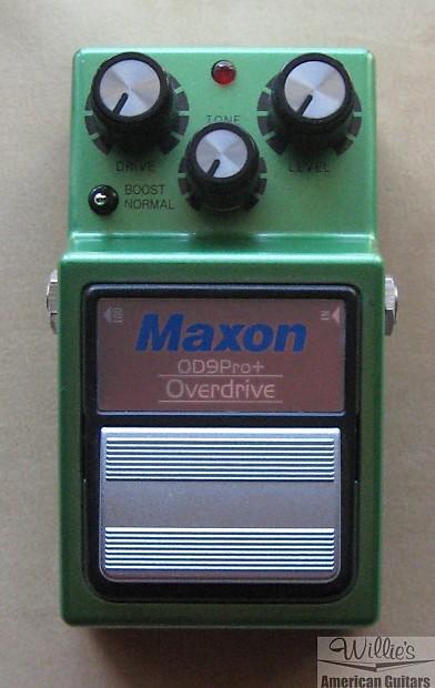 maxon od9 pro plus overdrive pedal tube screamer reverb. Black Bedroom Furniture Sets. Home Design Ideas