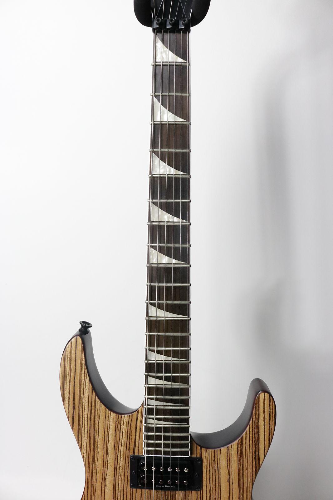 Jackson X Series Soloist SLX Zebra Wood 2017