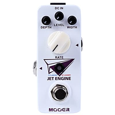 Mooer JET ENGINE Dual Digital Flanger Micro Guitar Effects Pedal 2016