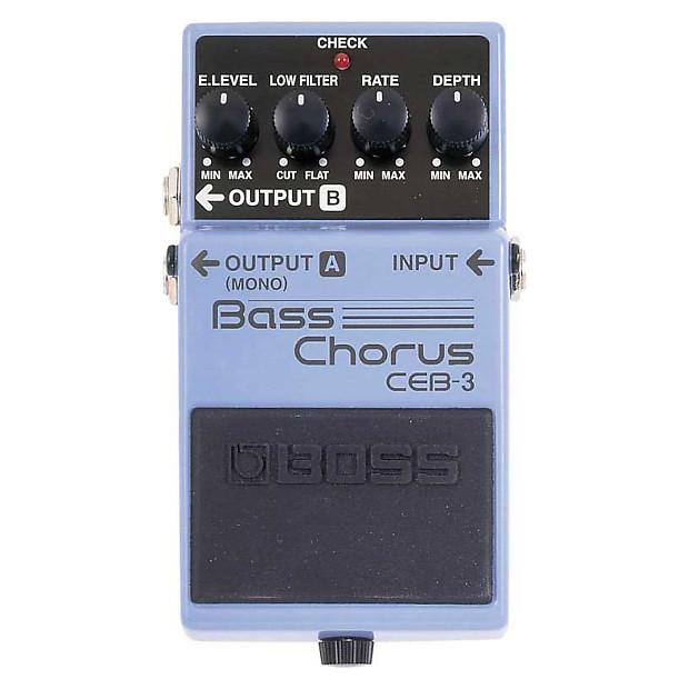 Bass Guitar Chorus Effect : boss ceb 3 bass guitar chorus effect pedal geartree reverb ~ Hamham.info Haus und Dekorationen