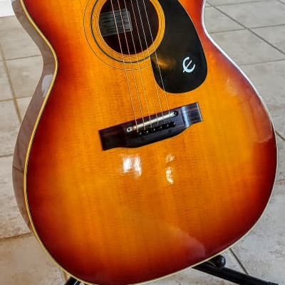 1971/72 MIJ Epiphone FT-130SB Caballero  Sunburst w/RoadRunner Gig Bag for sale