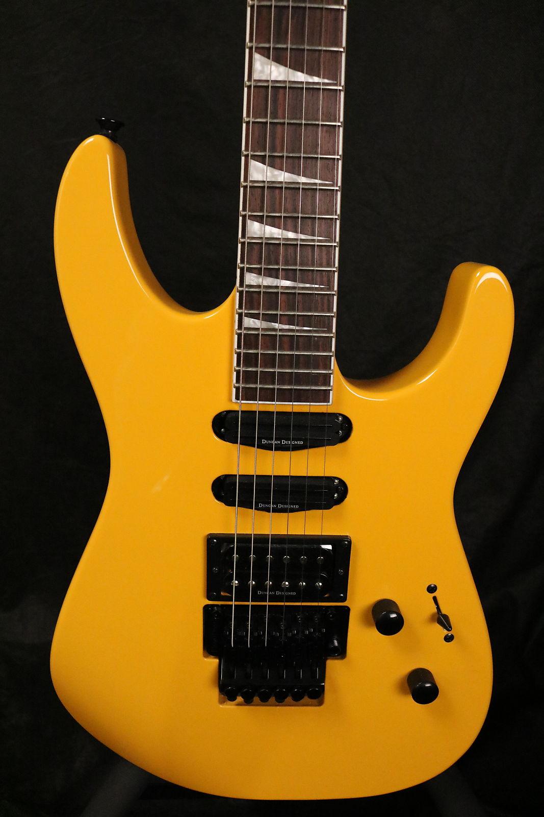 Jackson X Series Soloist SL3X Taxi Cab Yellow