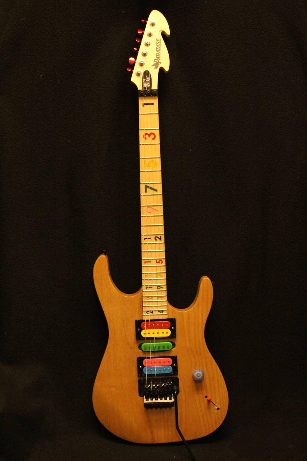 Jason Becker Numbers Custom Electric Guitar Dimarzio