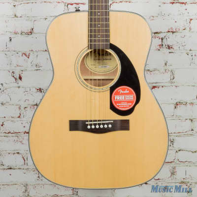 Fender Classic Design Series CC-60S Concert Acoustic Guitar Natural for sale