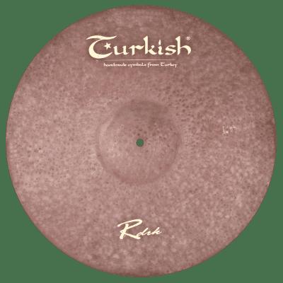 "Turkish Cymbals 20"" Raw Dark Series Raw Dark Ride RDRK-R20"