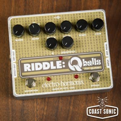 Electro-Harmonix Riddle: Q Balls Envelope Filter For Guitar