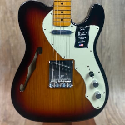Fender American Original 60s Telecaster Thinline MP 3 Color Sunburst w/case