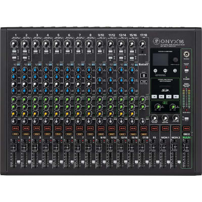 Mackie Onyx16 16-Channel Analog Mixer with Multitrack USB