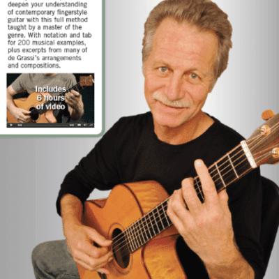 Hal Leonard The Alex Degrassi Fingerstyle Guitar Method