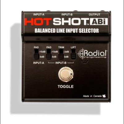 Radial Engineering HotShot ABi / Balanced Line Input Selector