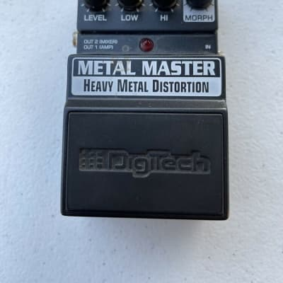 Digitech X-Series XMM Metal Master Heavy Metal Distortion Guitar Effect Pedal for sale