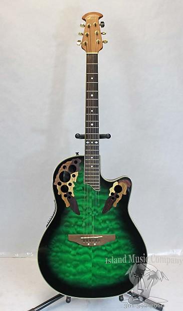 Ovation Celebrity Deluxe Guitar | eBay
