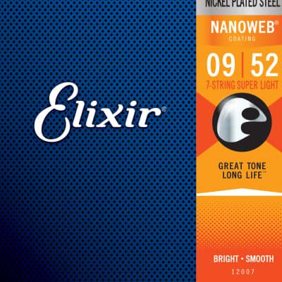 Elixir 12007 Electric Nickel Plated Steel Nanoweb