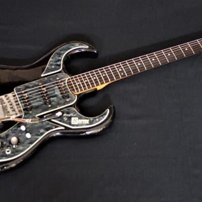 Burns 60`s Bison Guitar black for sale