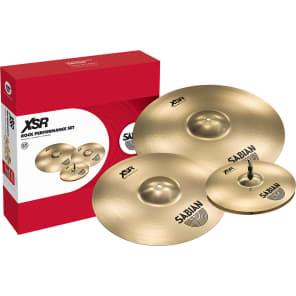 "Sabian XSR5009B Rock 14"" / 16"" / 20"" Cymbal Pack"