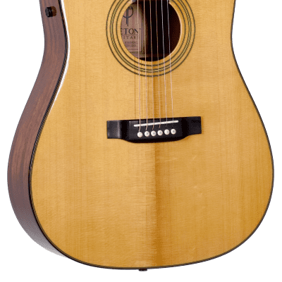 Teton STS200ENT Dreadnought Cutaway Spruce Top Mahogany Back/Sides 6-String Acoustic-Electric Guitar