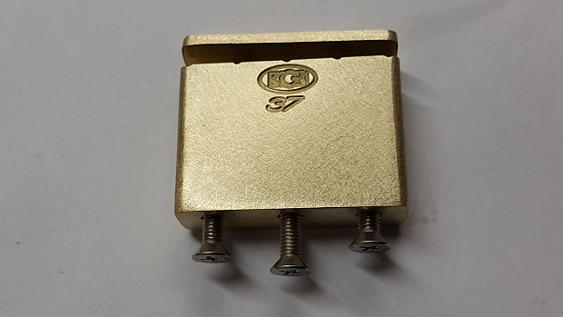 KGC Brass 42mm x 5/8 in  Tremolo Block -Floyd Rose -Big Block -Upgrade  Tone, Sustain-World's Finest
