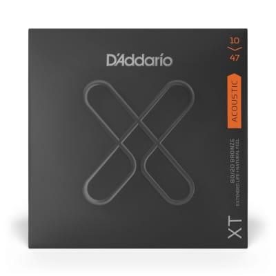 Daddario 10-47 XT Acoustic 80/20 Bronze Extra Light