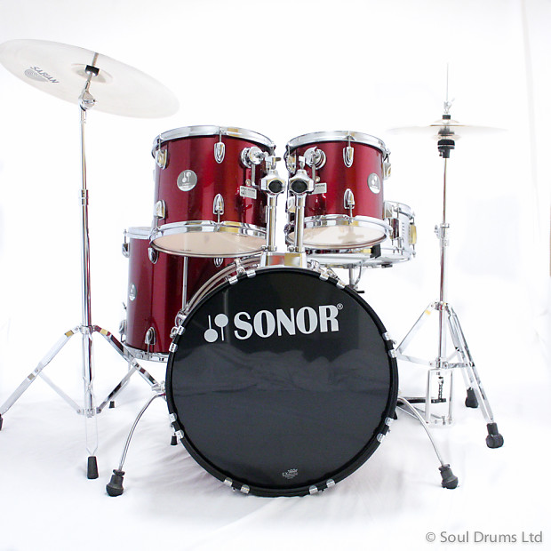 ad959f1409aa Sonor Force 505 Drum Set with Hardware
