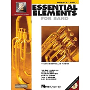 Hal Leonard Essential Elements for Band - Baritone T.C. Book 1 with EEi